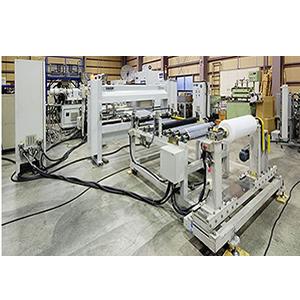 湿式リチウムイオン電池用セパレータ 高速生産ライン